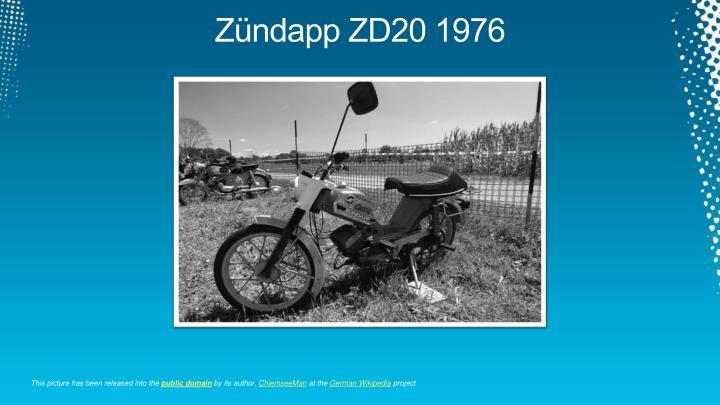 Zündapp ZD20 1976