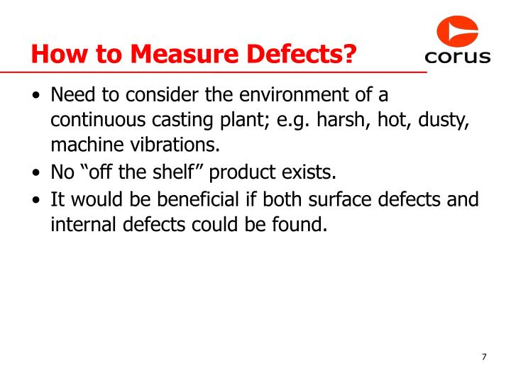 How to Measure Defects?
