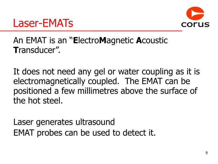Laser-EMATs