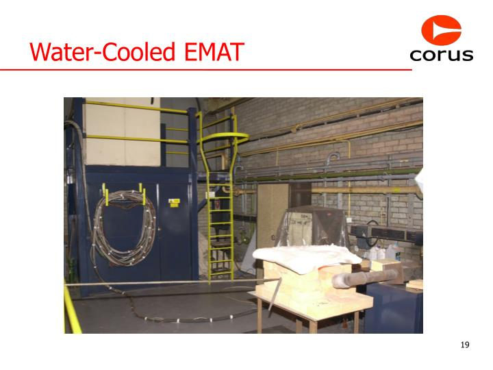 Water-Cooled EMAT