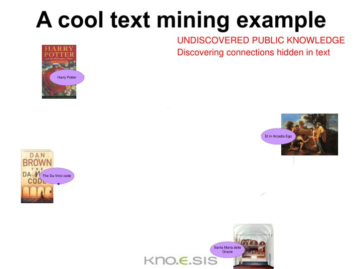 A cool text mining example
