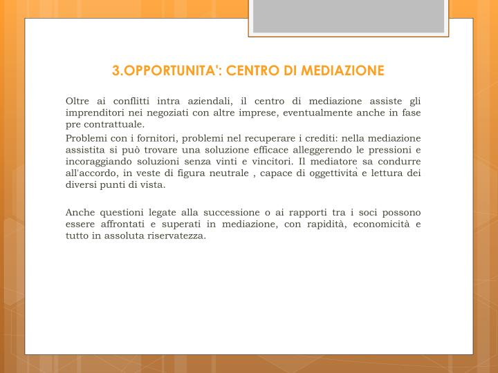 3.OPPORTUNITA