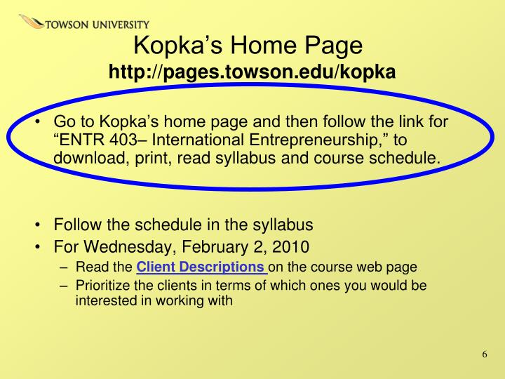 Kopka's Home Page