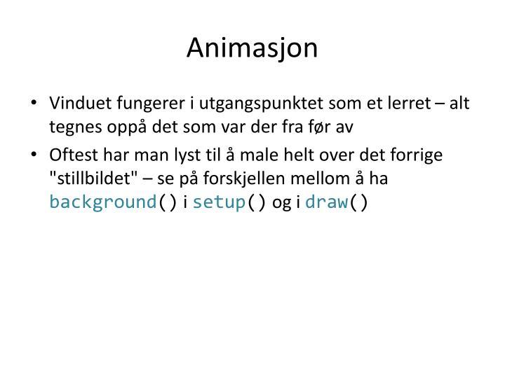 Animasjon
