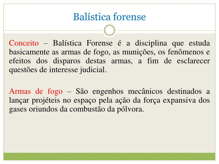 Balística forense