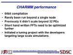 charmm performance