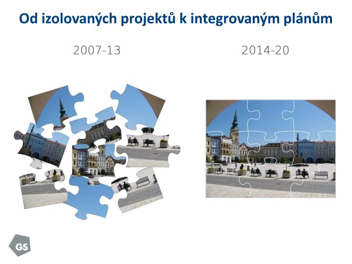 Od izolovaných projektů k integrovaným plánům