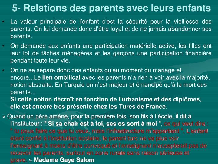 5- Relations