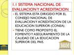 1 1 sistema nacional de evaluacion y acreditacion