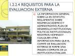 1 2 2 4 requisitos para la evaluacion externa1