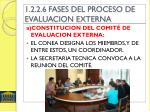 1 2 2 6 fases del proceso de evaluacion externa