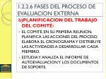 1 2 2 6 fases del proceso de evaluacion externa1