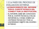 1 2 2 6 fases del proceso de evaluacion externa4