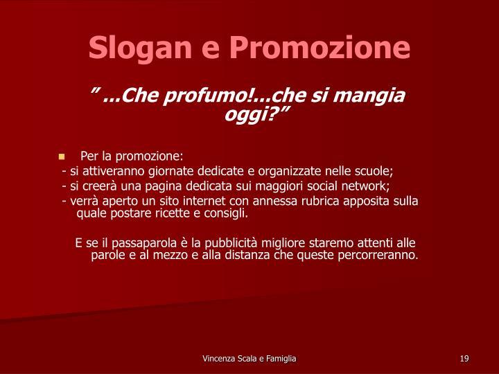 Slogan e Promozione