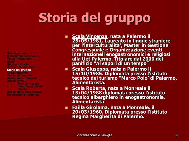 Storia del gruppo