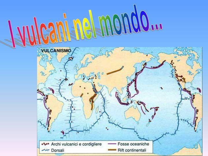 I vulcani nel mondo...