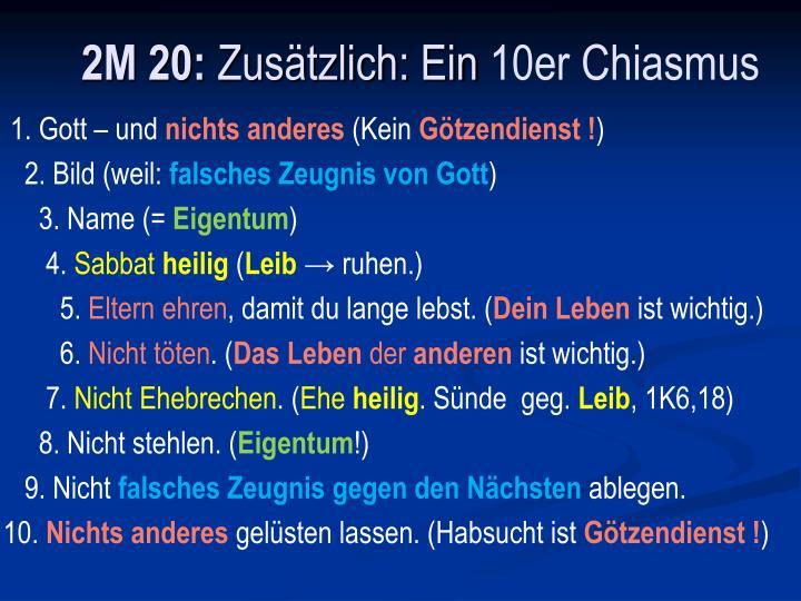 2M 20: