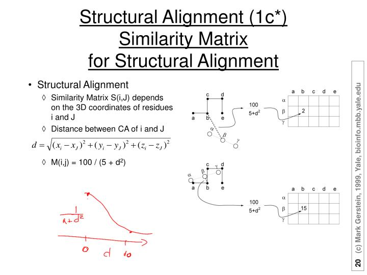 Structural Alignment (1c*)