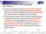 arquitetura no brasil ensino e profiss o elena salvatori1