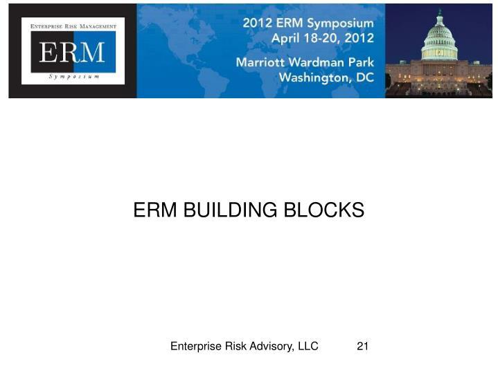 ERM BUILDING BLOCKS