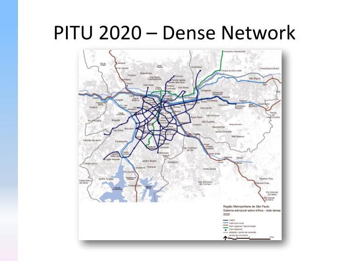 PITU 2020 – Dense Network