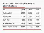 ekonomika p stov n p enice bez p m ch plateb