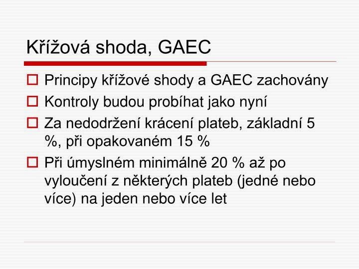 Křížová shoda, GAEC