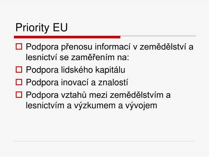 Priority EU