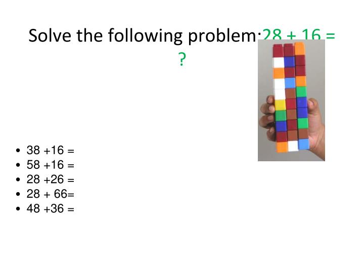 Solve the following problem 28 161