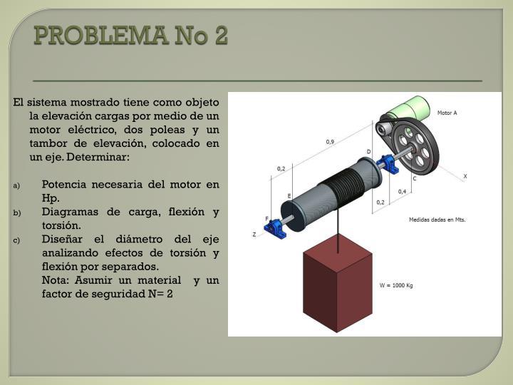PROBLEMA No 2