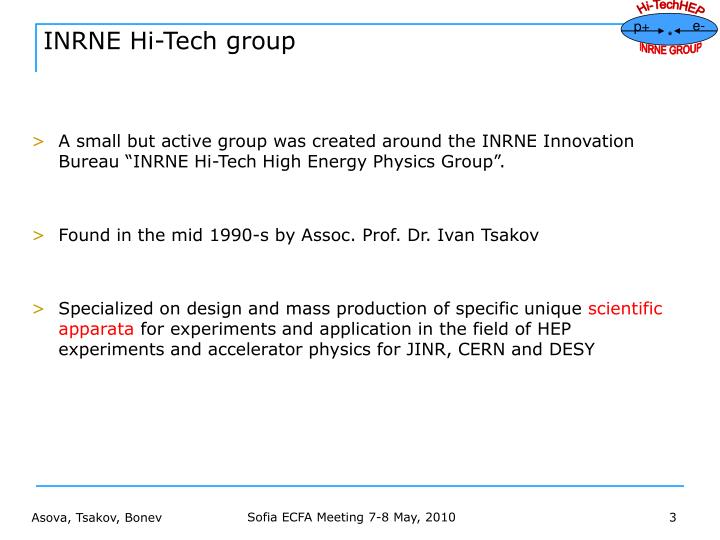 Inrne hi tech group