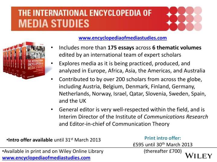 www.encyclopediaofmediastudies.com
