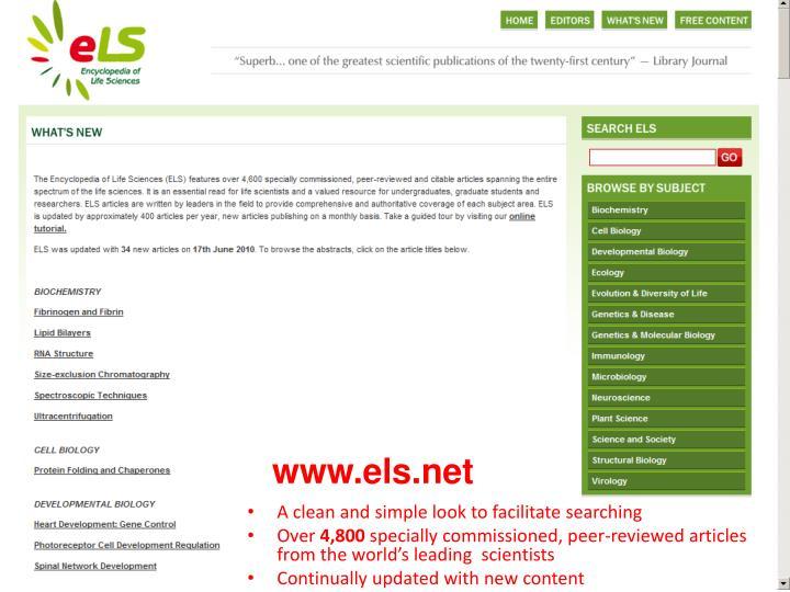www.els.net