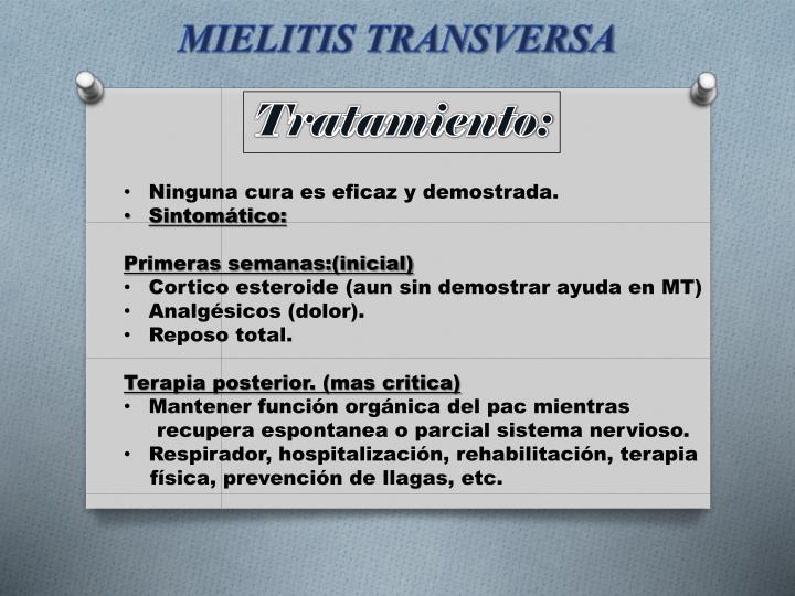 PPT - MIELITIS TRANSVERSA PowerPoint Presentation - ID:3667130