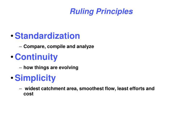 Ruling Principles
