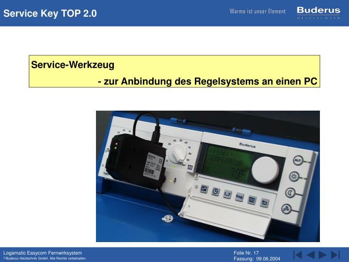 Service Key TOP 2.0