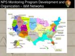 nps monitoring program development and organization i m networks