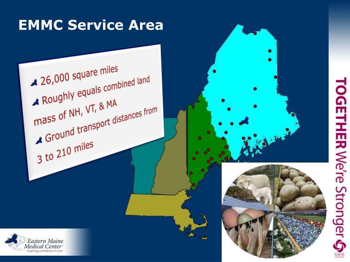 EMMC Service Area