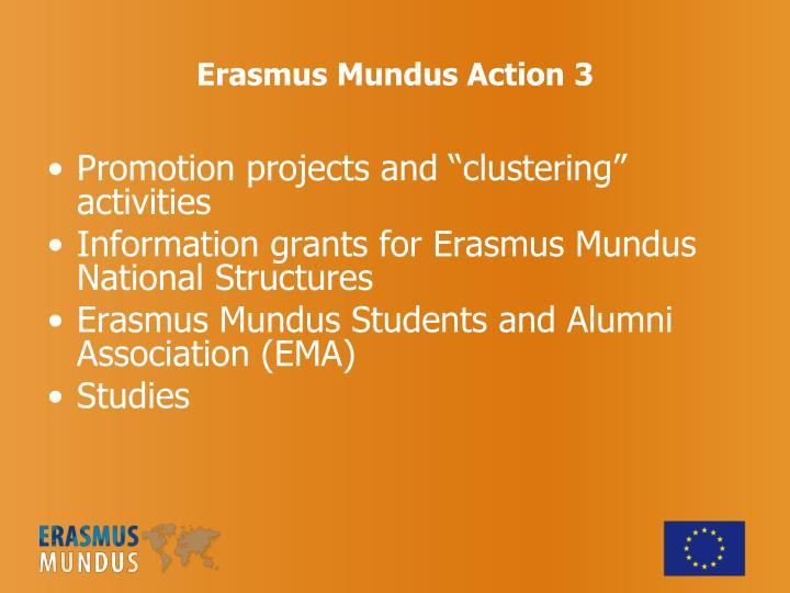Erasmus Mundus Action 3