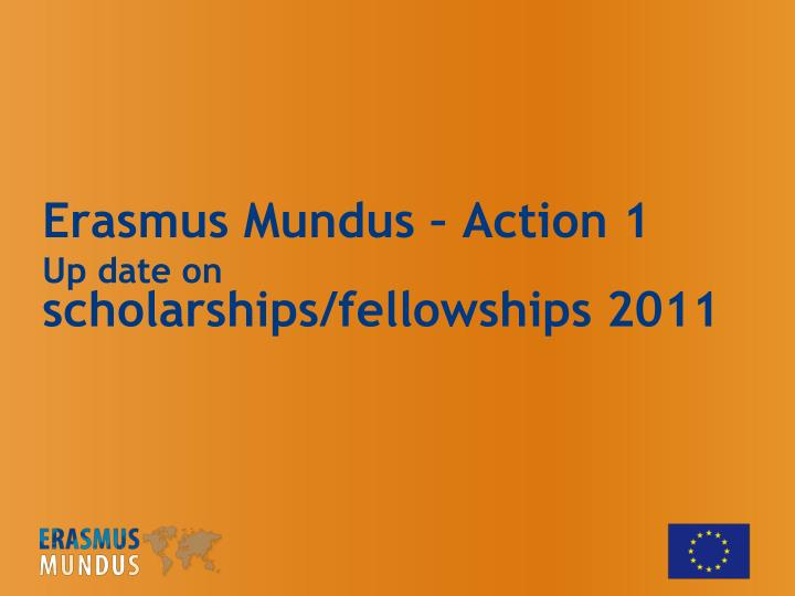 Erasmus Mundus – Action 1