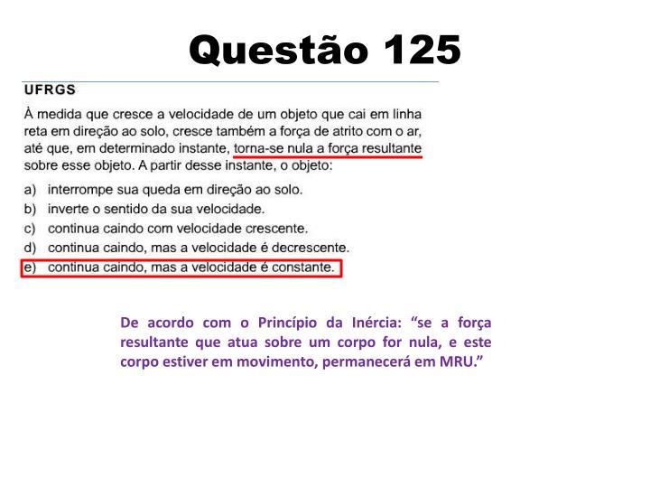 Questão 125