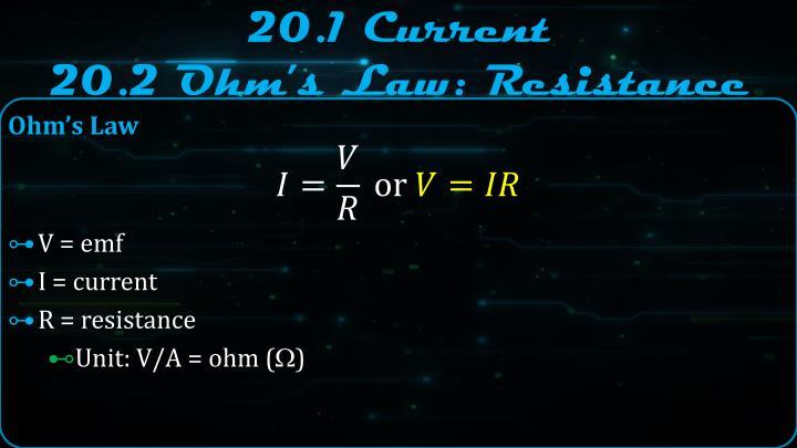 20.1 Current