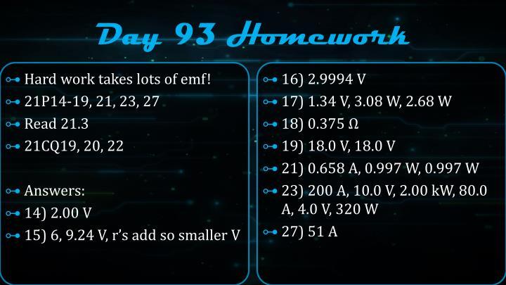 Day 93 Homework