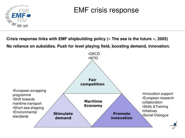 EMF crisis response