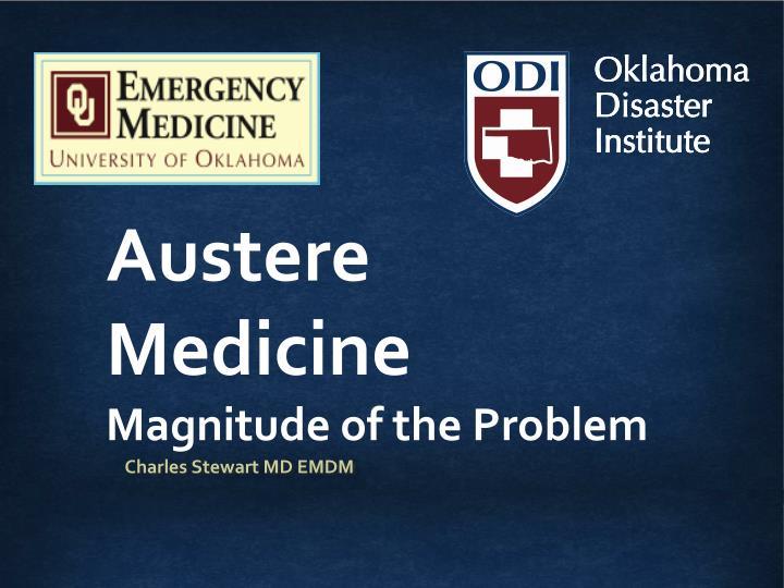 Austere Medicine