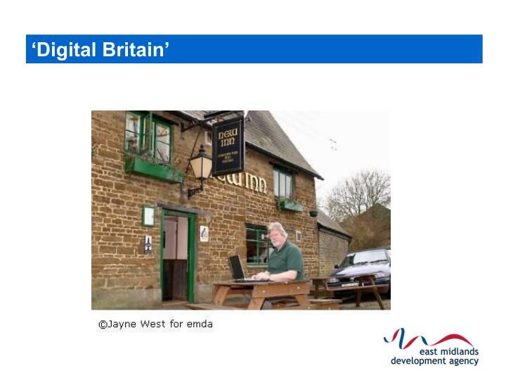 'Digital Britain'