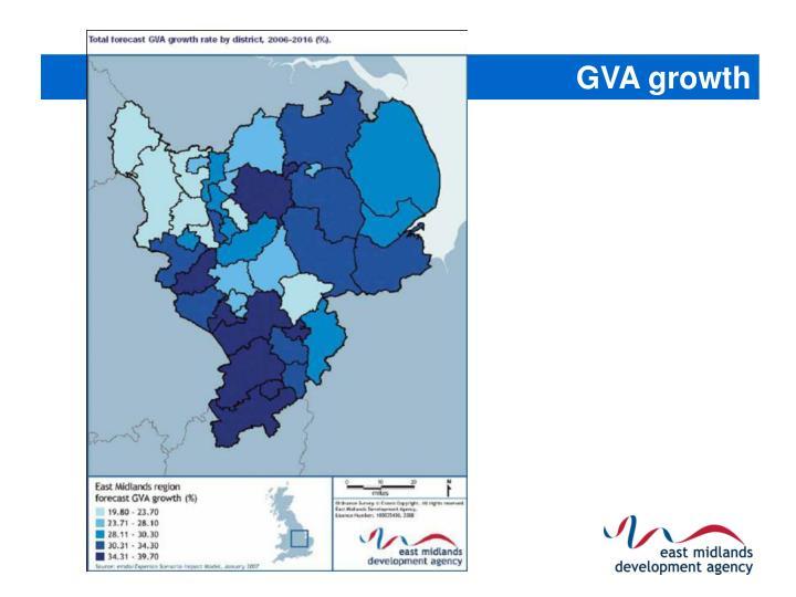 GVA growth