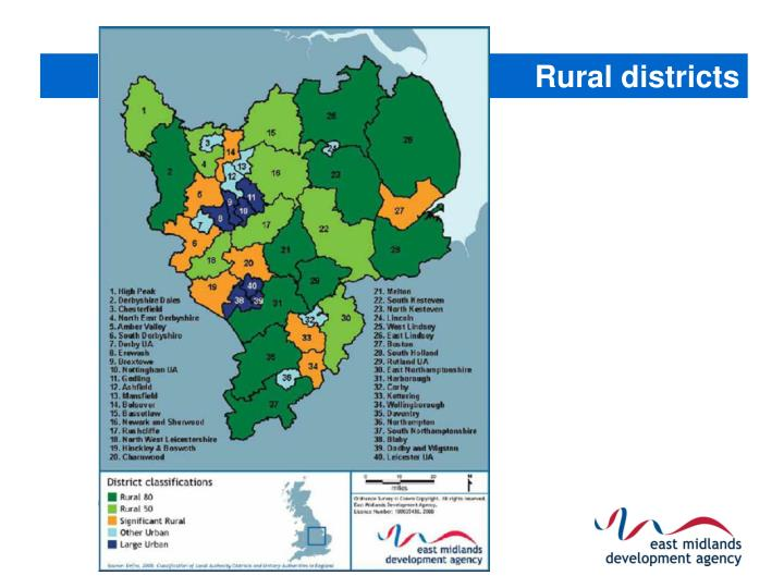 Rural districts