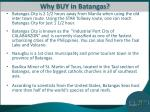 why buy in batangas