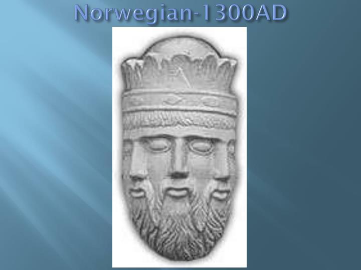 Norwegian-1300AD